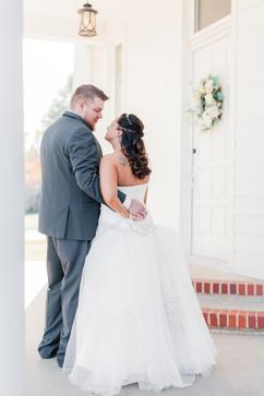 wedding couple portrait missouri