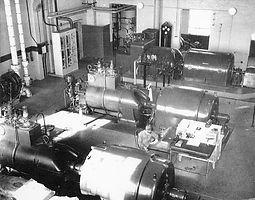 Acme Power Plant Interior, 1949, Sheridan WY