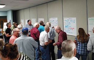 Acme Power Plant Community Visioning Session, Sheridan, Wyoming