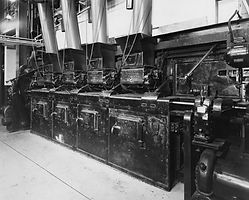 Acme Power Plant Boiler Room, 1963 Sheridan, WY