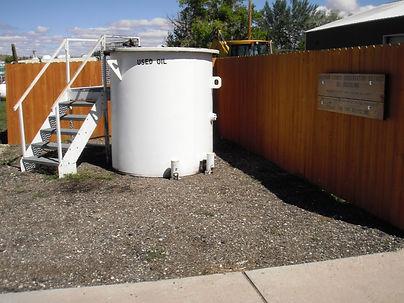 Dayton Oil Tank
