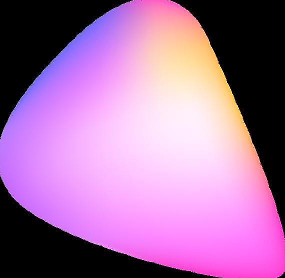 Färgrik abstrakt form