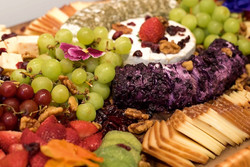 European Cheese and Fruit Platter