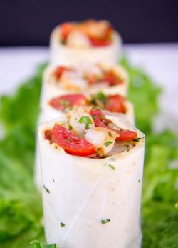 Shrimp Scampi Wrap