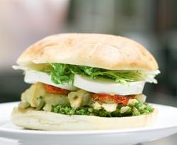Artichoke Mozzarella Sandwich