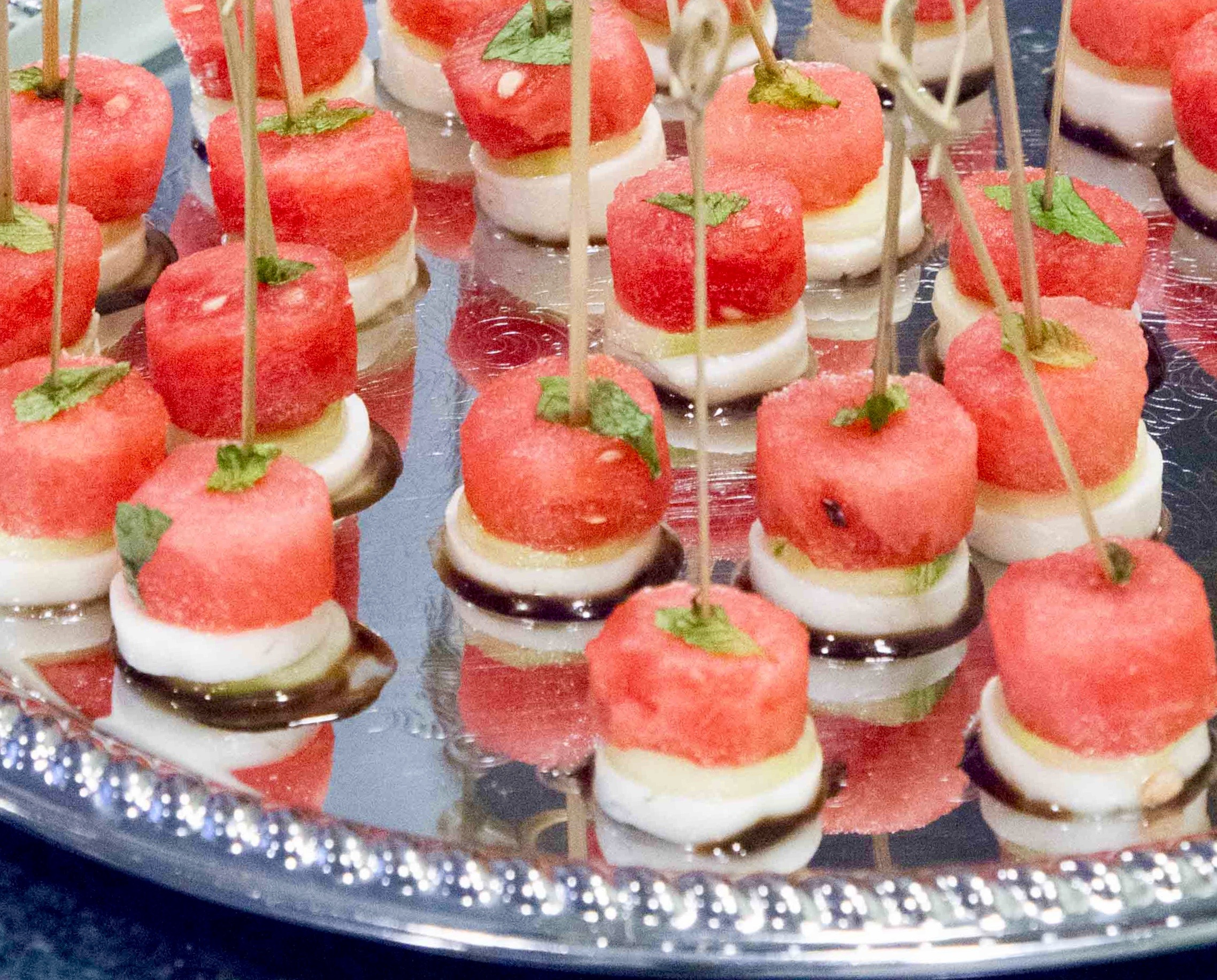 Watermelon Halloumi