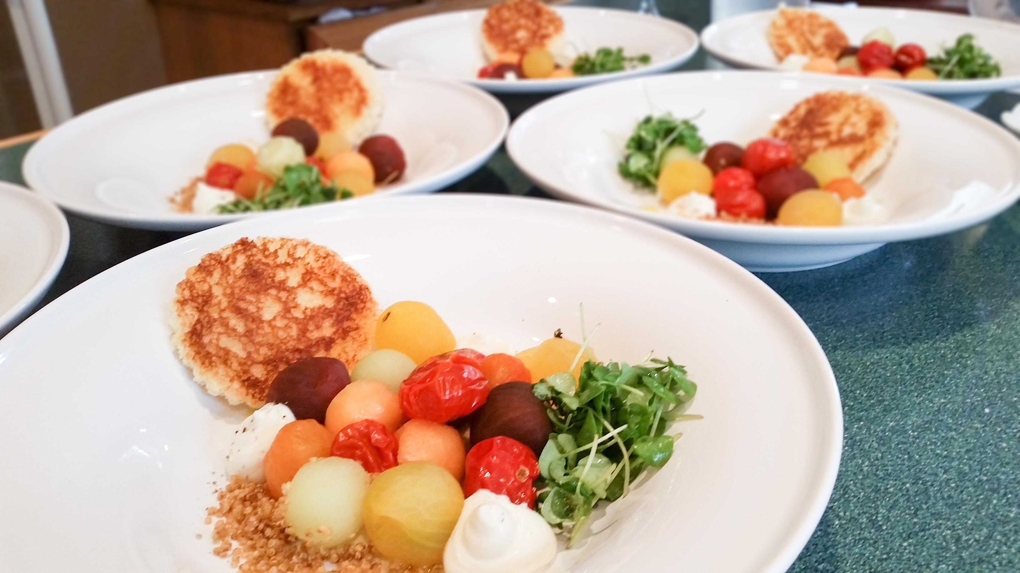 Tomato Melon Salad
