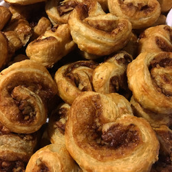 Maple Pecan Palmiers