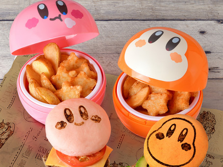 Kirby and Waddle Dee Burgers Added to Kirby Café Takeout Menu