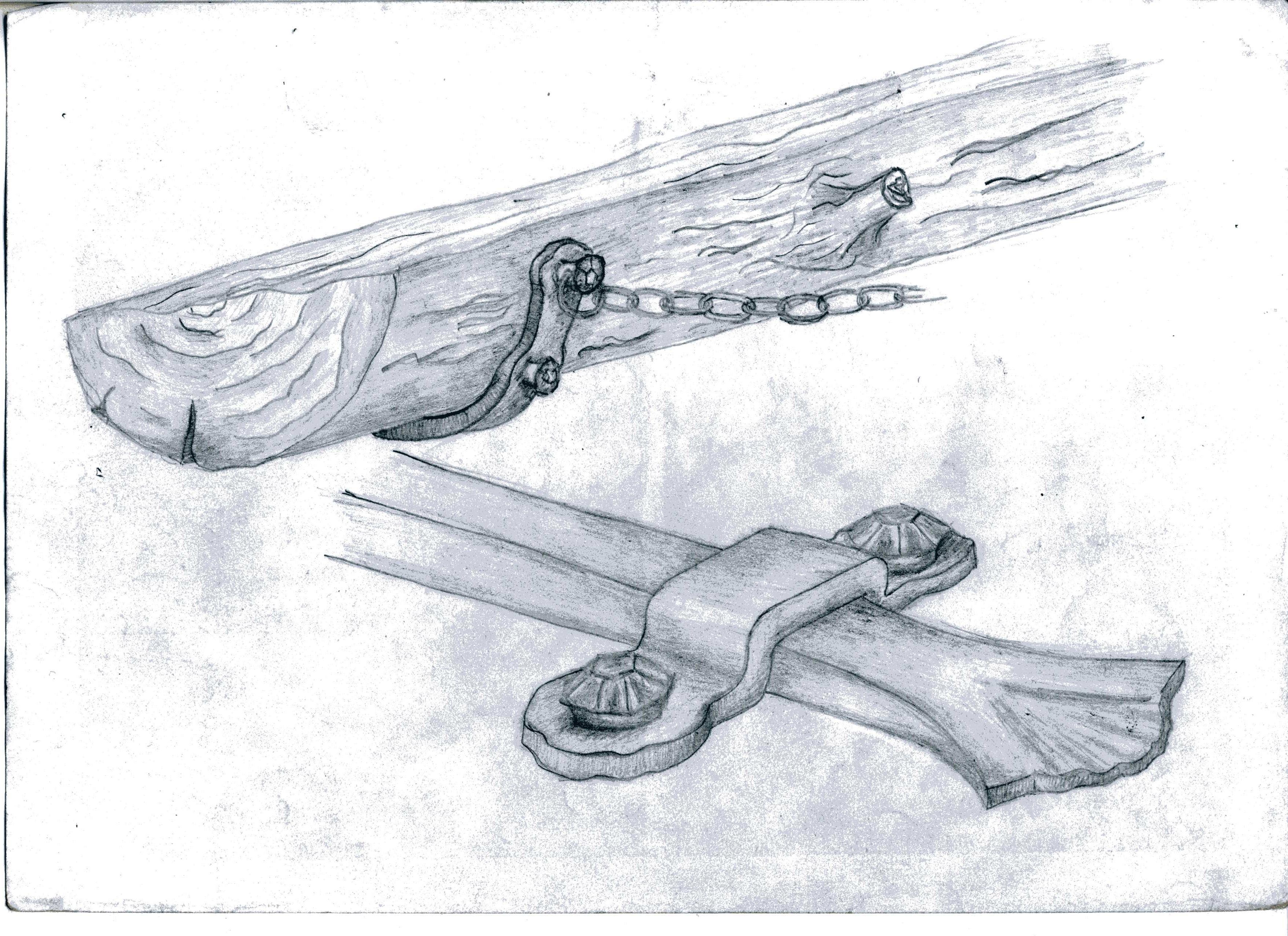 элементы кованого оформления камина