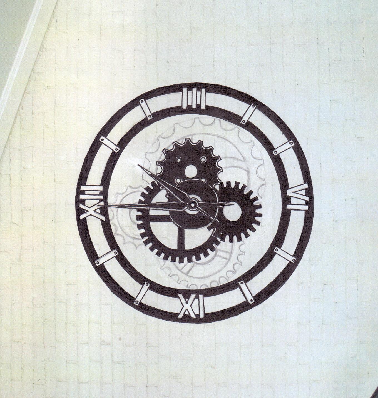 настенная композиция часы
