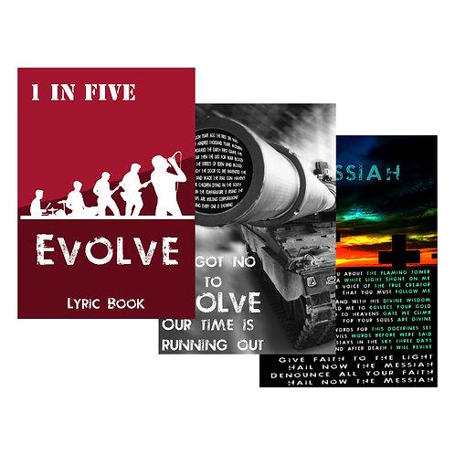 EVOLVE DIGITAL LYRIC BOOK