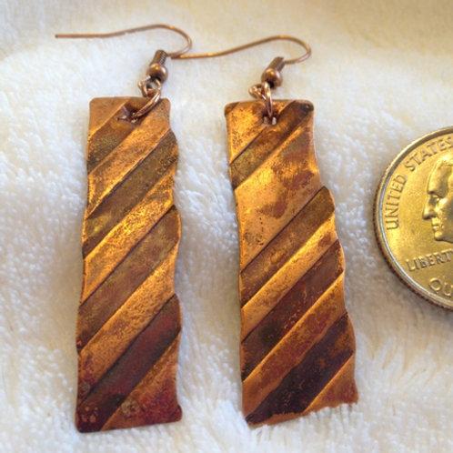 Stripes on Copper