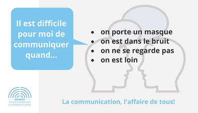 communicarte il est difficile quand - re