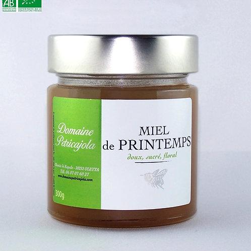 Miel de Printemps biologique 300 g