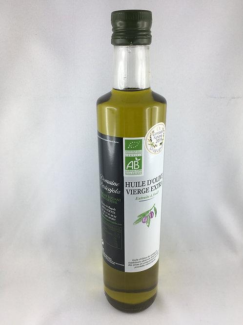 Huile d'olive vierge extra biologique 50 cl
