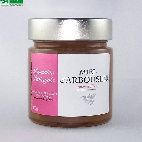 Miel d'Arbousier biologique 300 g