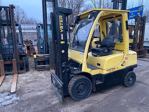 Hyster H2.5FT, 2500 кг, 4950 мм.