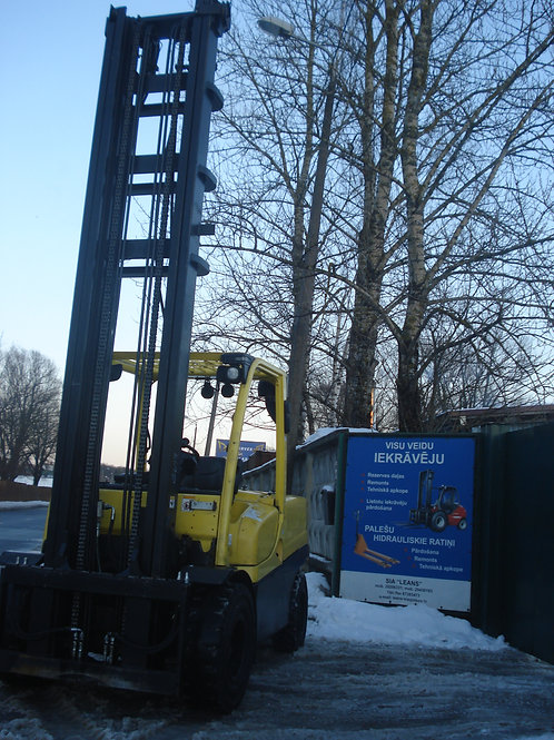 Hyster H5.5FT, 5500 кг, 7000 мм.