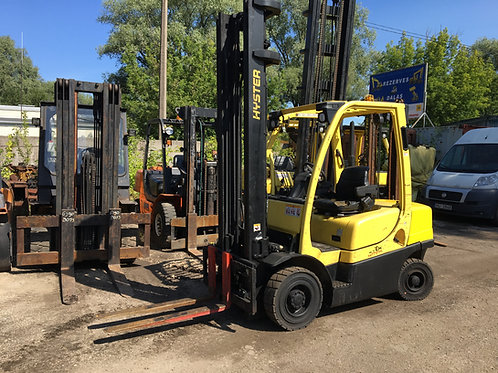 Hyster H2.5FT, 2500 кг, 4800 мм.