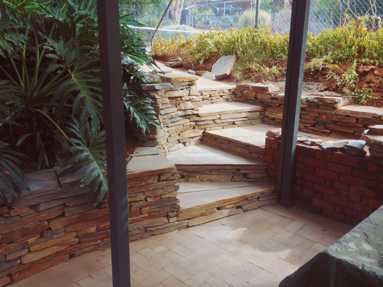 Practical and good looking steps