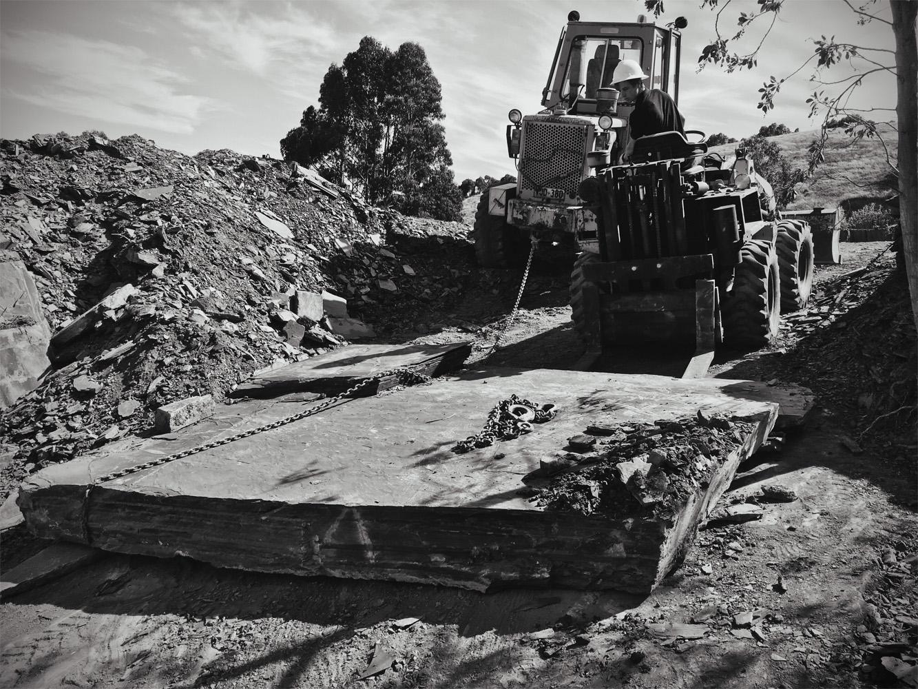 Towing slate