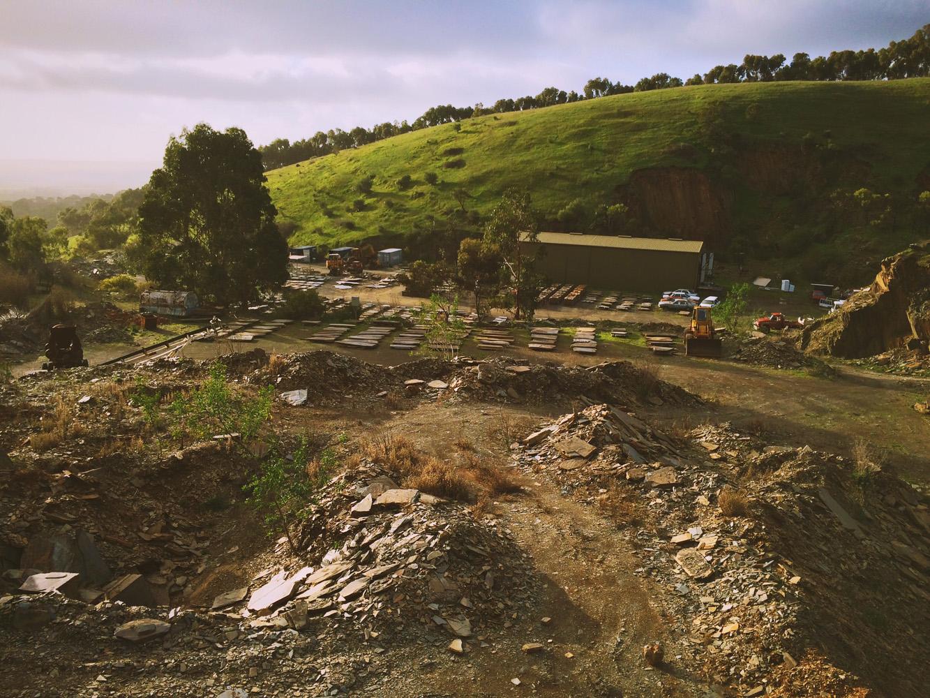 View of Willunga Slate