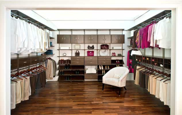 freedomrail chocolate walk-in-closet