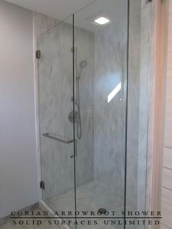 arrowroot shower 3 BACK WALL