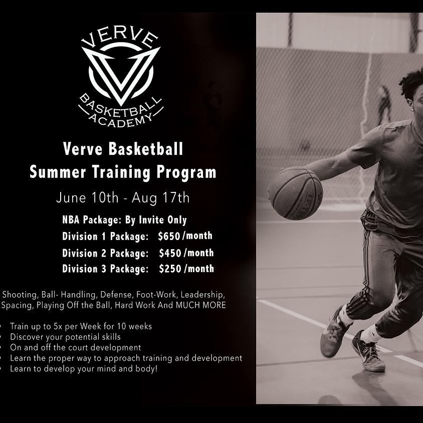 Verve Basketball Summer Training