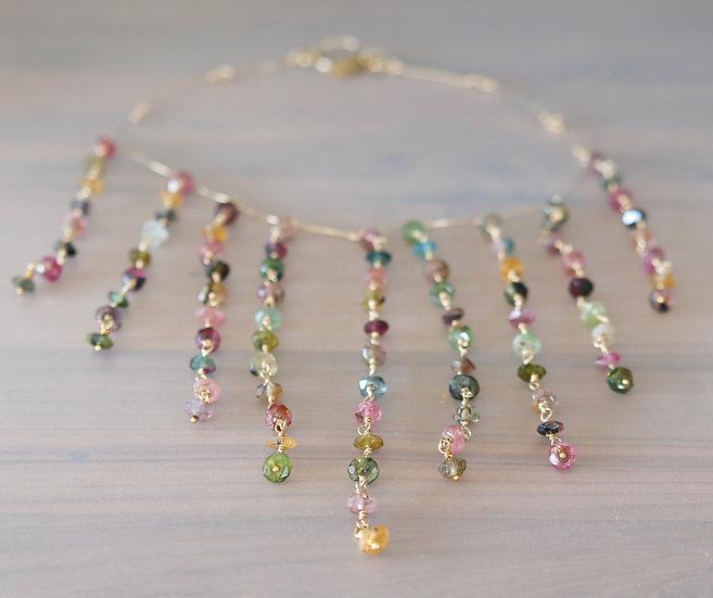 Tourmaline Drop Necklace