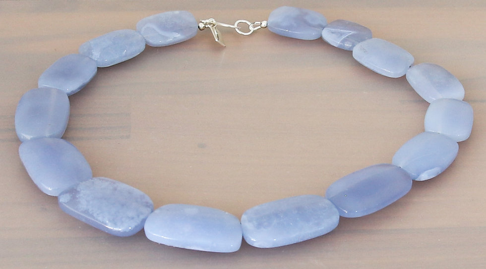 Chalcedony Collar Necklace