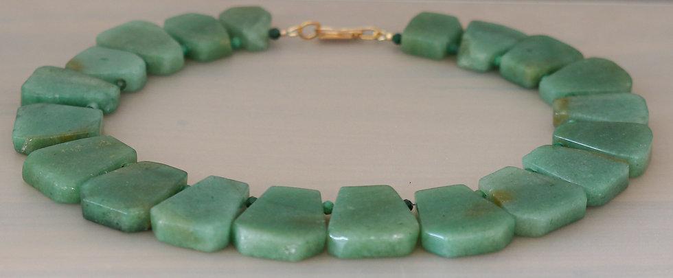Jade Collar Necklace