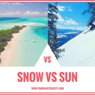 Travels With Romance: Snow Vs. Sun
