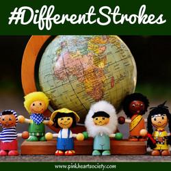 #DifferentStrokes