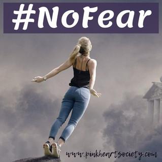 October Editorial: No Fear