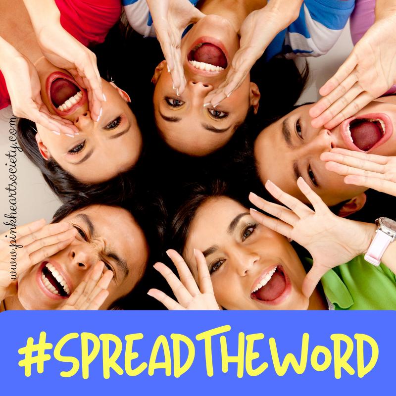 #SpreadTheWord