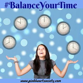 The Write Life Balance:  Balance Your Time