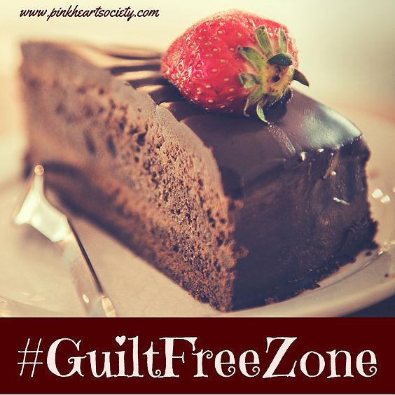#GuiltFreeZone