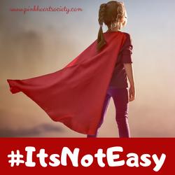 #ItsNotEasy