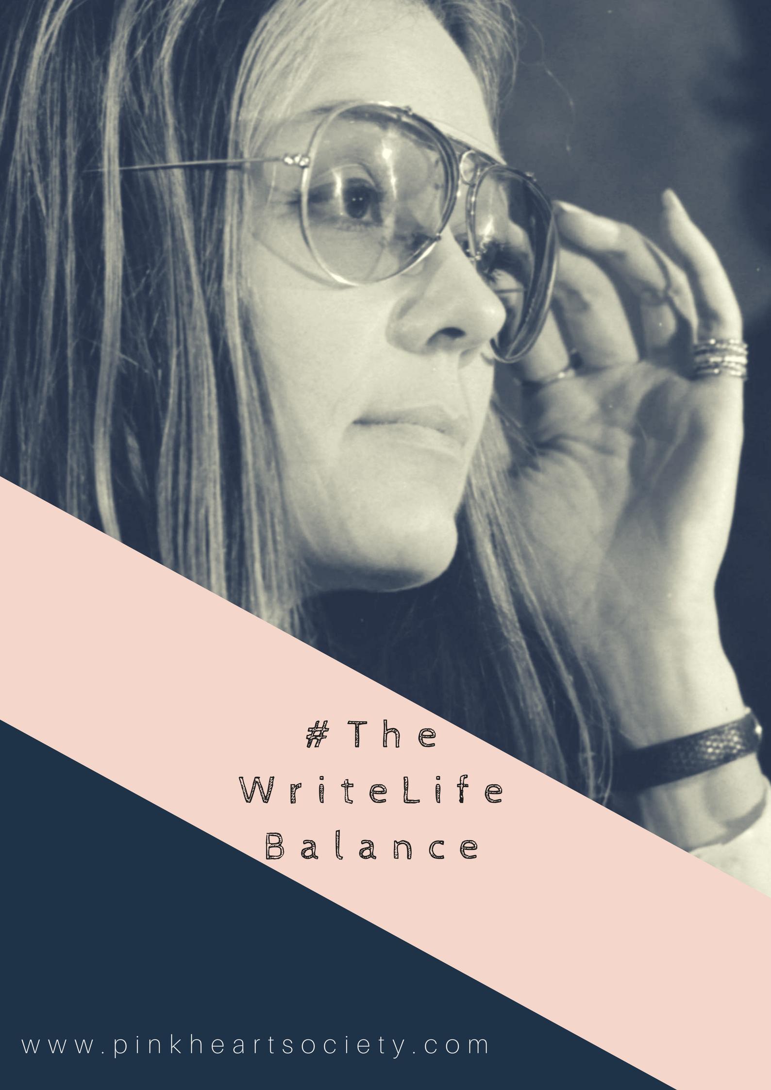 #TheWriteLifeBalance