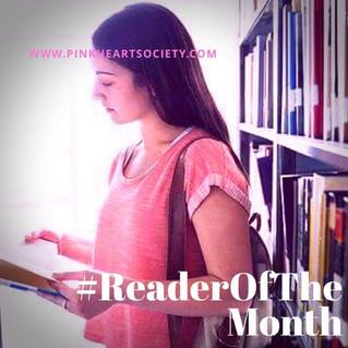 #ReaderOfTheMonth:  Fiona Marsden
