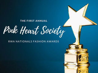 The PHS Fashion Awards for RWA 2017 - Are You A Winner?