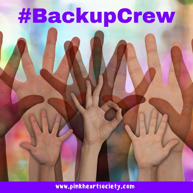 #BackupCrew