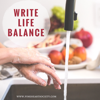 The Write Life Balance:  Ten Minutes