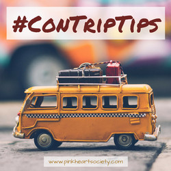 #ConTripTips