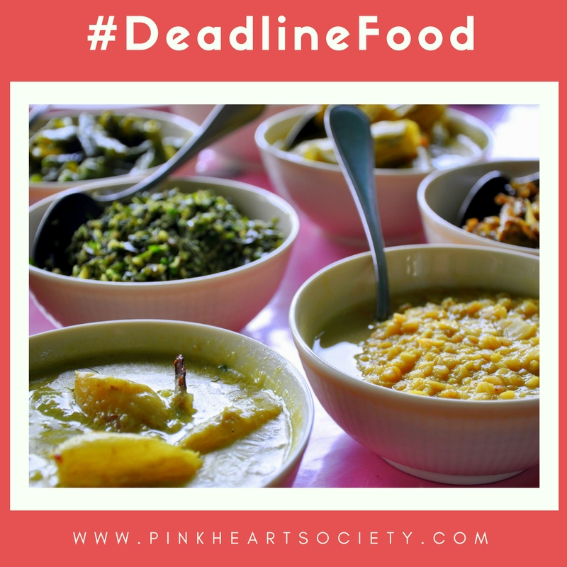 #DeadlineFood