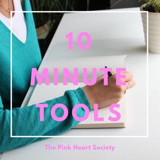 The Write Life Balance:  Ten Minute Tools