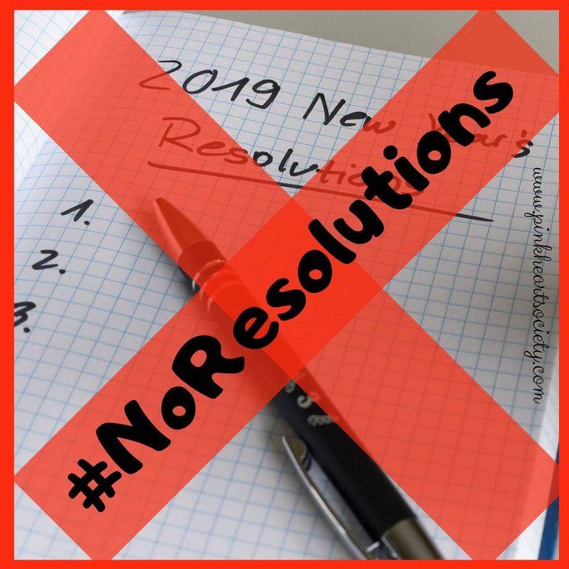 No Resolution? No Worries!