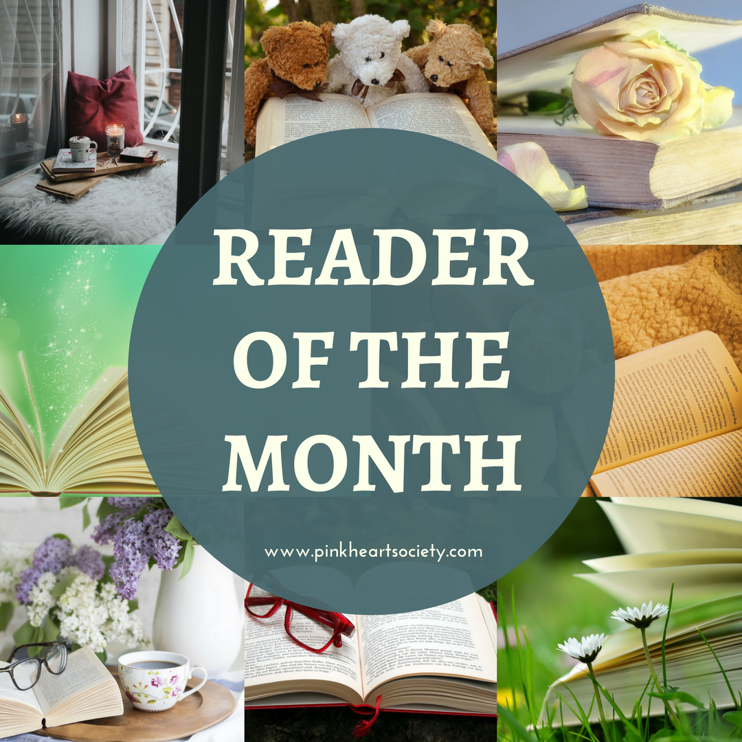 #ReaderOfTheMonth